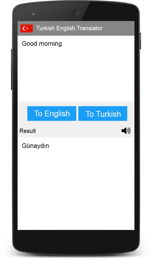 Turkish English Translator